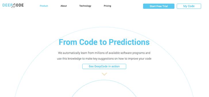 deepcode - Yapay Zeka Kullanarak Kodlardaki Hataları Bulan Yazılım: DeepCode