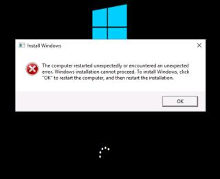 bilgisayar beklenmedik sekilde yeniden baslatildi ya da hatasi - Format Atarken Bilgisayar Beklenmedik Şekilde Yeniden Başlatıldı Hatası ve Çözümü