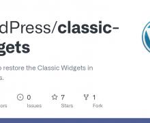 WordPress Bileşenler Bölümünü Eski Haline Getirme